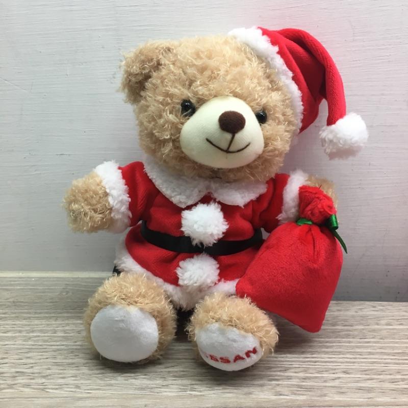 紀念款NISSAN聖誕節小熊娃娃禮盒