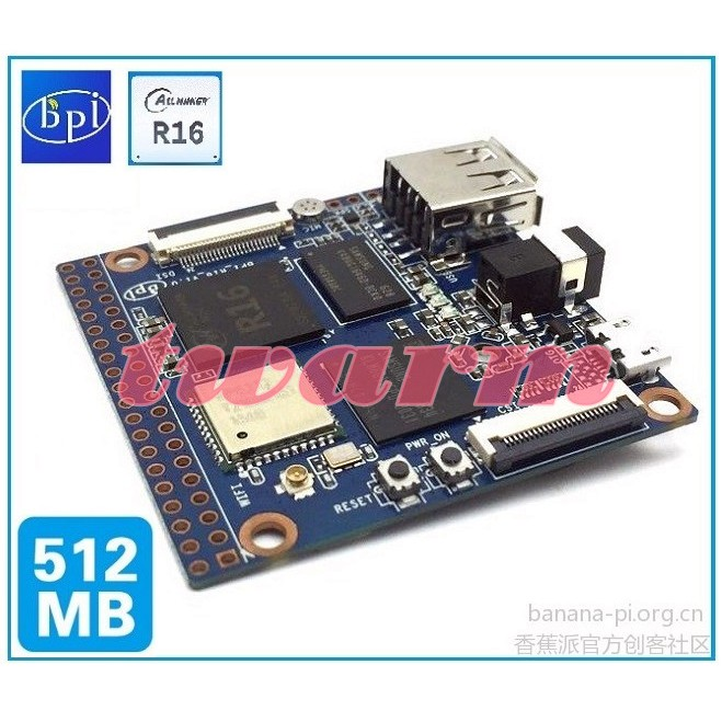 TW18790 /香蕉派Banana Pi M2 Magic BPi-M2M(R16) 開發板 BPI-M2 Magic