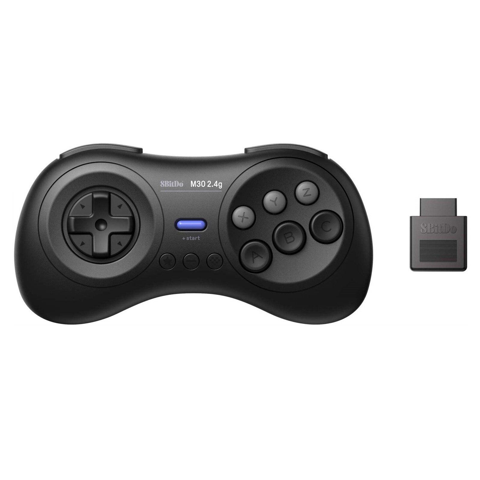 【免運】💎廠家直銷💎8Bitdo八位堂M30 2.4G無線 手柄 MD遊戲機 有線連接電腦Switch 連發
