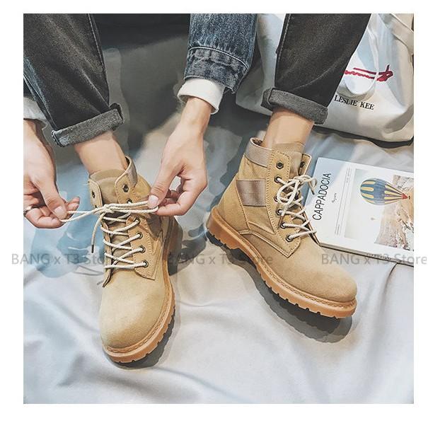 BANG 熱銷款 情侶馬丁靴 高筒馬丁鞋 馬丁靴 高筒鞋 男鞋 靴子【S16】