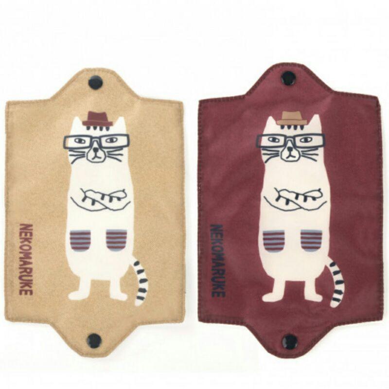 新款可扣式 口罩 收納套子眼睛貓 現貨寄出