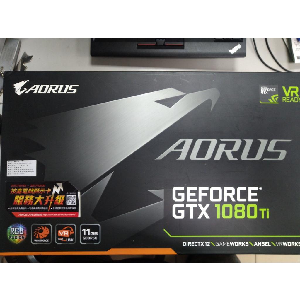[二手] Gigabyte Aorus Nvidia Geforce GTX 1080ti