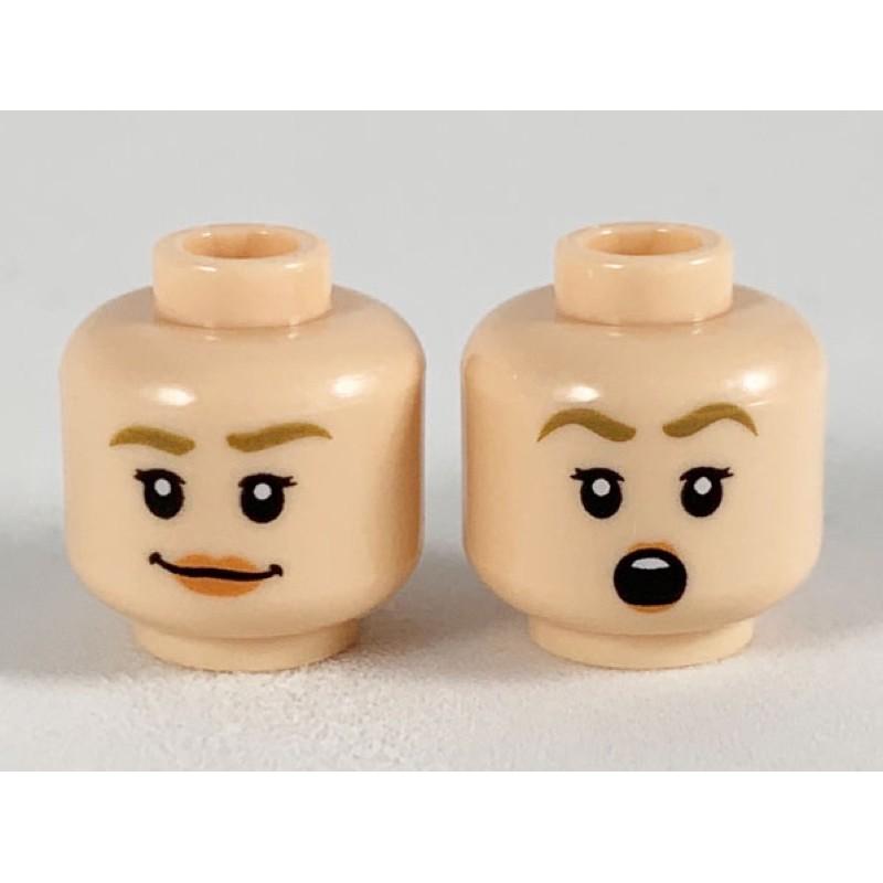 樂高 LEGO 頭 臉 表情 Fleur Delacour 哈利波特(75958 21319 3626cpb2480)
