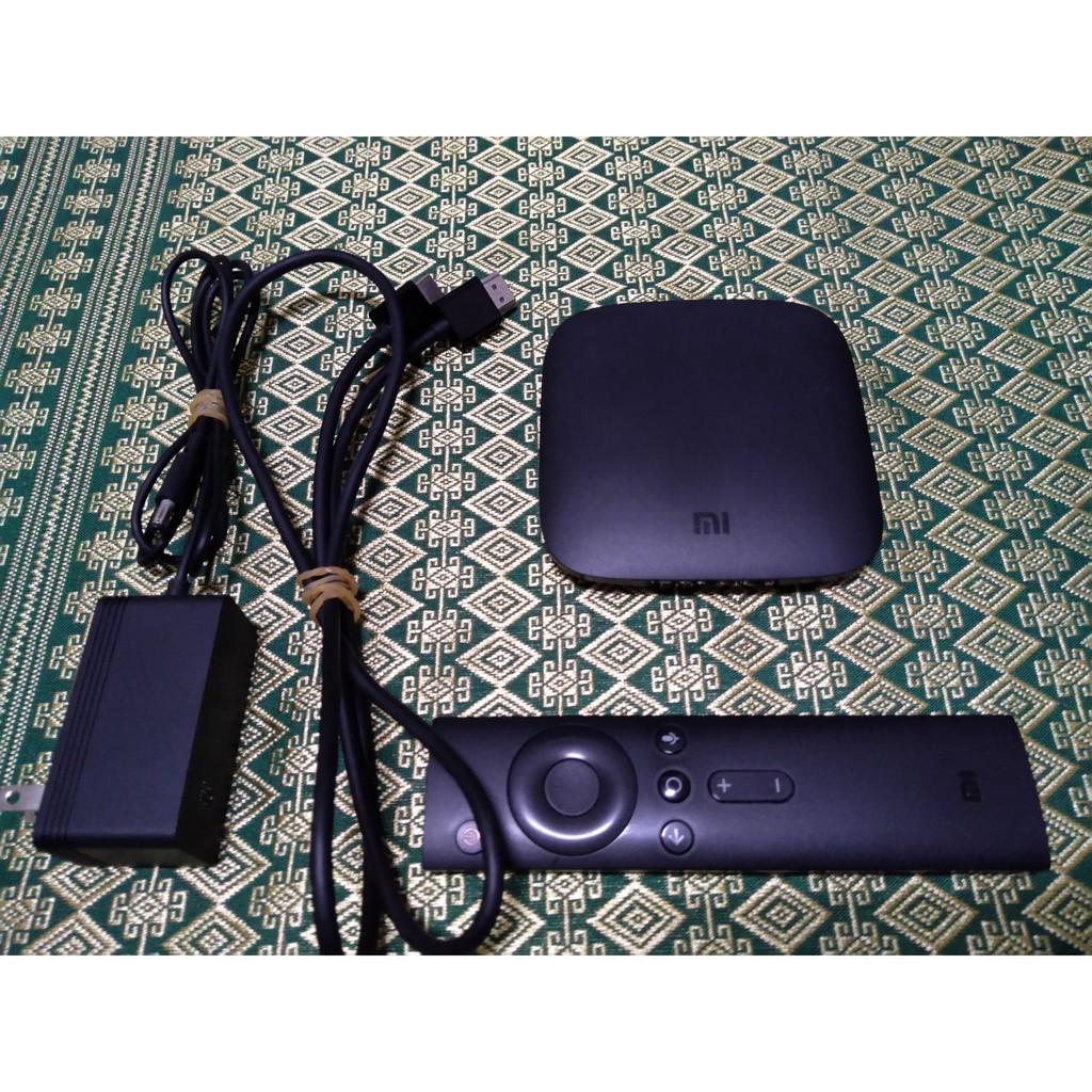二手 小米盒子 國際版 台灣版 配件完整 MI BOX MDZ-16-AB