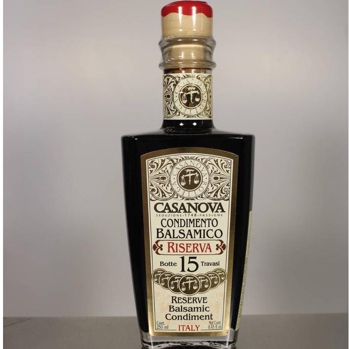 卡薩諾瓦[CASANOVA]巴薩米克陳年葡萄醋250ml-15年原價3200  滿3600宅配免運費(多件優惠私)