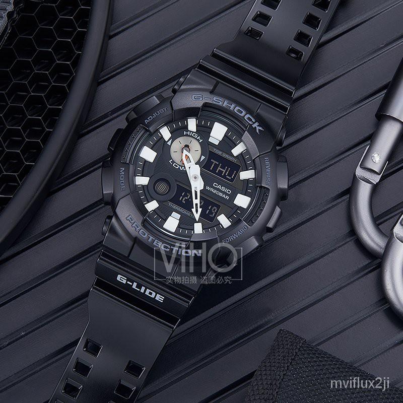 香港直郵卡西歐CASIO經典G-SHOCK運動防水電子男手錶GAX-100B-1A LlPE