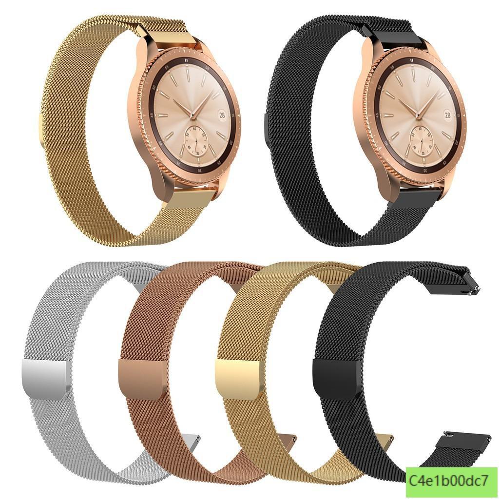 Garmin Vivolife錶帶 米蘭金屬錶帶Vivolife悠遊卡智慧手錶 替換腕帶磁吸錶帶