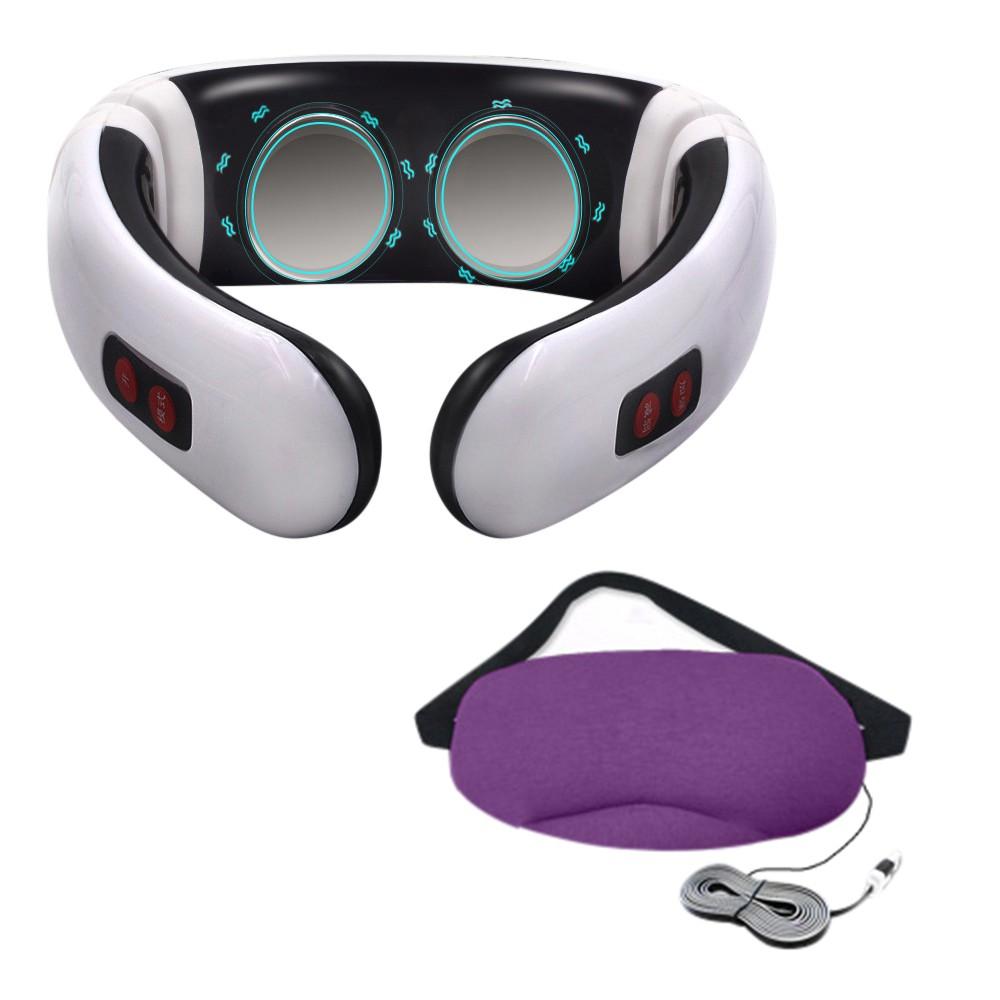 肩頸博士6種手感按摩器+基本款眼罩組合