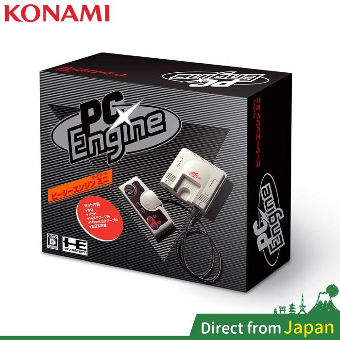 日版 PC Engine mini 復刻遊戲主機 正方白 58款遊戲 迷你 PC-E 2020最新款 KONAMI