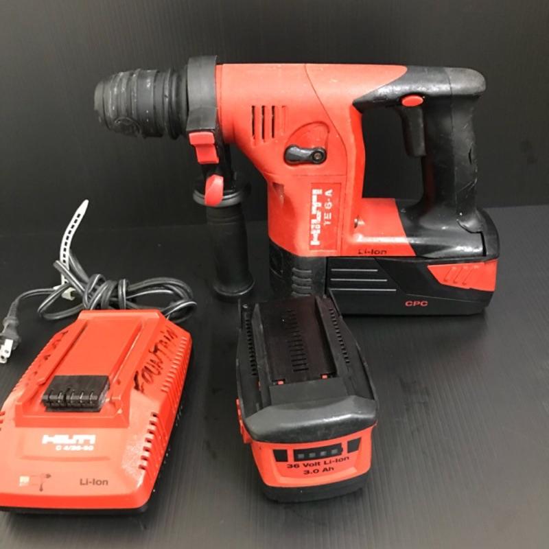 【巷內工具】喜得釘 喜利得 HILTI TE 6 雙鋰電池充電式免出力電鎚鑽/電鑽 取代TE2A