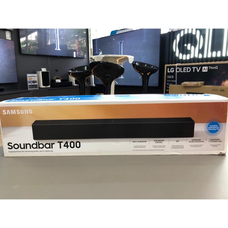 現貨 三星soundbar HW-T400/ZW公司貨
