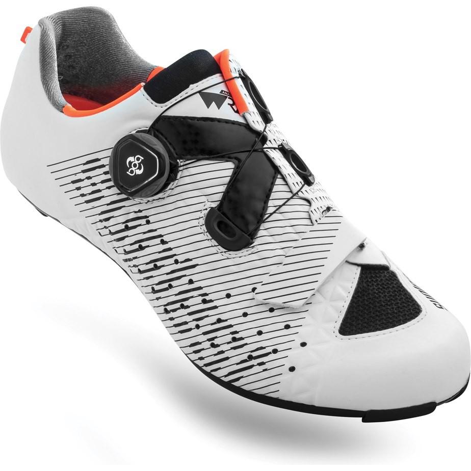 小熊卡鞋 Suplest Edge 3 Sport 白橘 塑鋼底 BOA單旋鈕