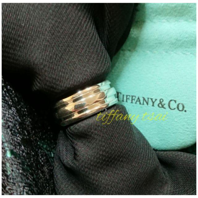 【免運】Tiffany二手正品 雙環 三環 中性戒指