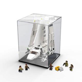 樂高亞克力展示盒75094帝國穿梭機大白鵝積木 透明防塵手辦收納盒#笔戀 桃園市