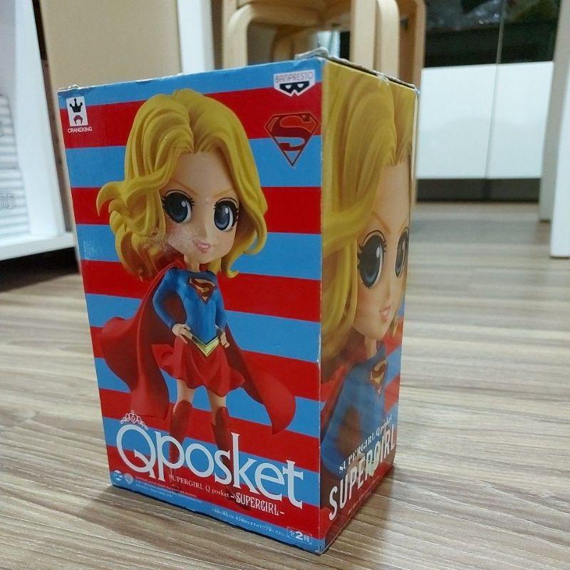 QP Qposket 正版 代理  DC 正義聯盟 超女 超少女 女超人 Supergirl 公仔