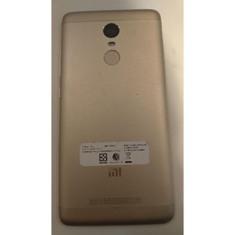 小米 紅米 Redmi Note 3 3/32GB 安卓6 六核心 金色 5.5吋 超值4G手機 二手機