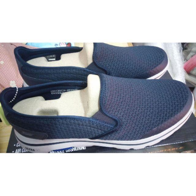 SKECHERS GOWALK5 運動鞋 懶人鞋 男鞋深藍色鞋55510NVY no027 尺寸11(29cm)全新