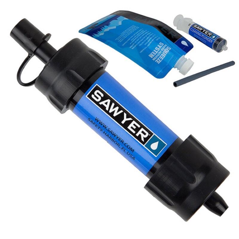 Sawyer MINI Water Filter  0.1微米, 無BPA, 超輕量隨身濾水器