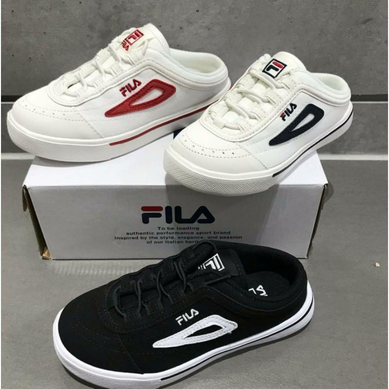 "FILA 新款推出 兒童 懶人鞋 ""穆勒鞋"" 穿脫方便 CLASSIC BOARDER"