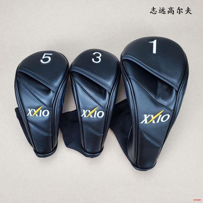 💛高爾夫竿套 XX10高爾夫球桿套桿頭套帽套球頭套球桿保護套木桿套XXIO