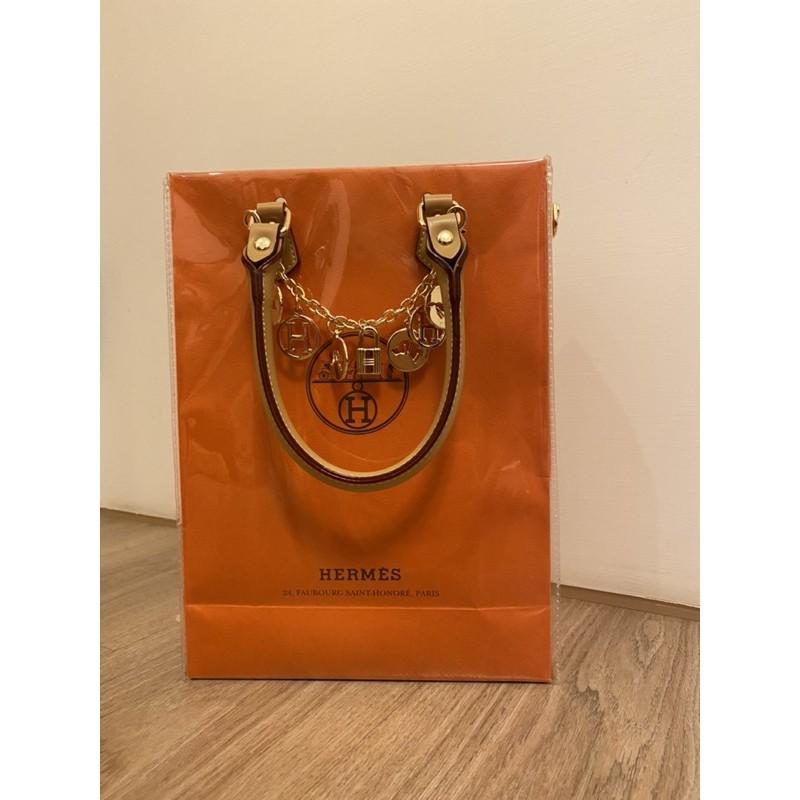 🎐現貨🎐精品紙袋改造 / 購物包 / 紙袋改造/ Hermès 名牌紙袋