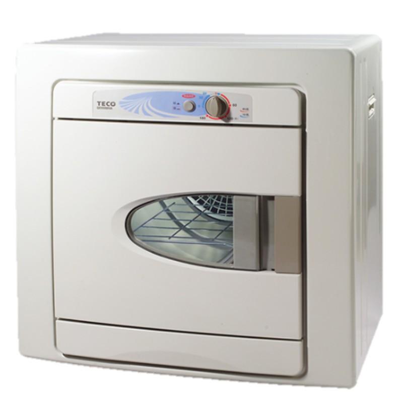 【來電詢價免運】 TECO 東元 5公斤 電子式不鏽鋼 自動控溫乾衣機 QD5568NA