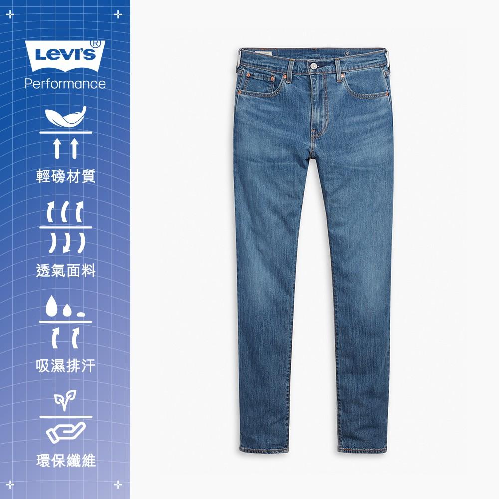 Levis 502上寬下窄牛仔褲 / Cool Jeans輕彈有型 / 中藍水洗 男款-人氣新品 29507-1046