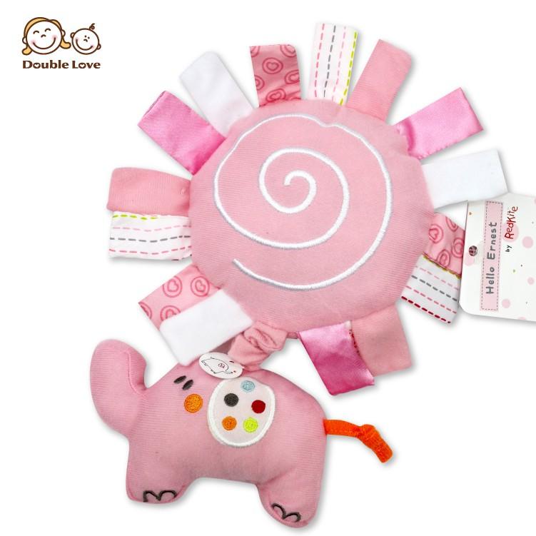 DL大象安撫音樂鈴嬰兒床掛 布偶 玩具益智玩具 寶寶玩偶【KA0139】