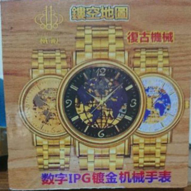 WEIGUAN數字IPG鍍金機械手錶  手錶 男錶 女錶 脕錶