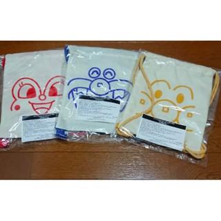 『現貨』全新 日本 麵包超人 細菌人 紅精靈 genki 非賣品 限定 束口袋 後背包 紅色 黃色 藍色 臺中市