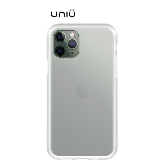 UNIU 矽膠軍規防摔殼 iPHONE 11 系列 霧透