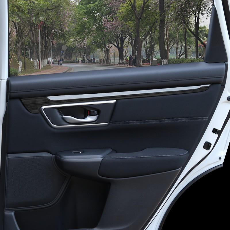 Honda~適用 5代5.5代CRV車門亮條裝飾條 2021款crv內飾改裝專用配件汽車用品