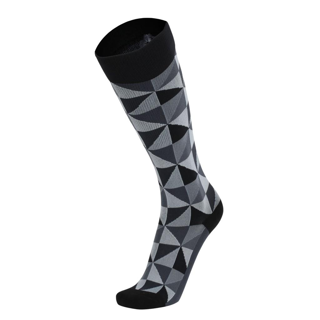 IMI MBJ 壓力襪 及膝 黑鑽石 紐約設計師款