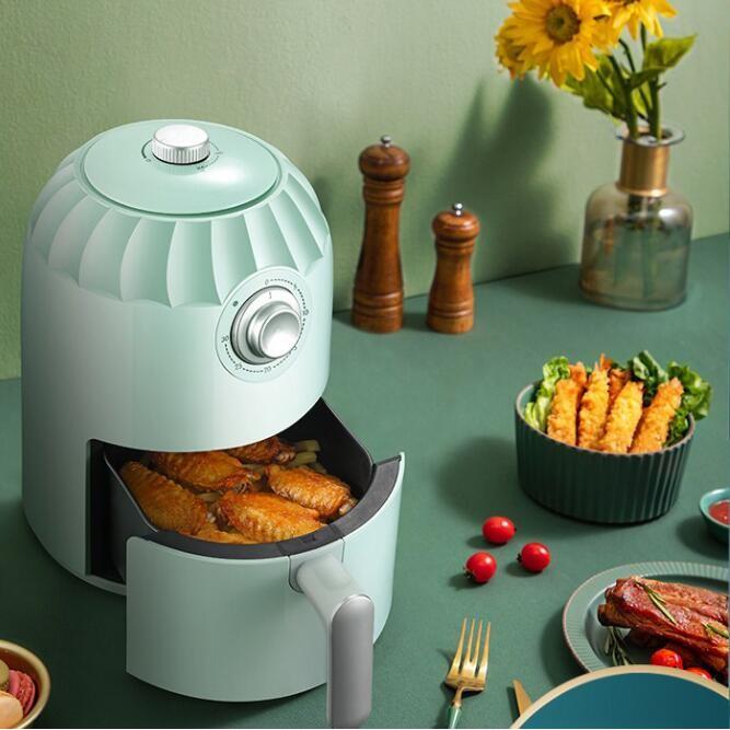 《新鮮貨》220v空氣炸鍋家用大容量智慧電炸鍋無油煙低脂薯條多功能全自動