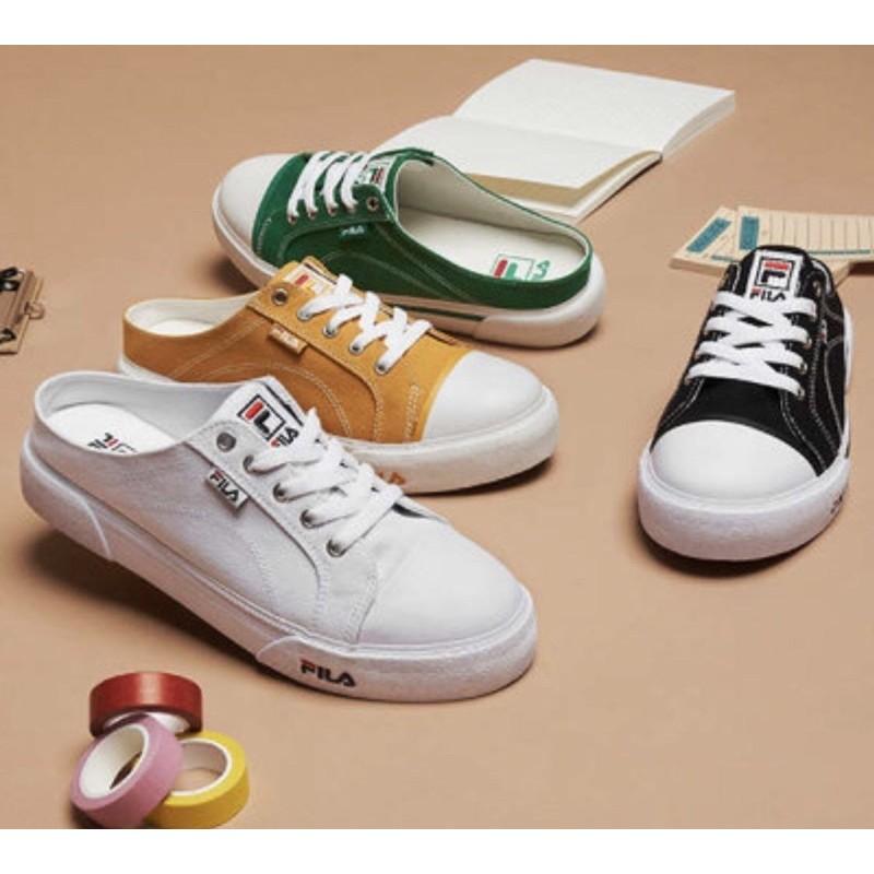 🟤萊恩妮🇰🇷代購🟤Fila CoMo mule 穆勒鞋 懶人鞋