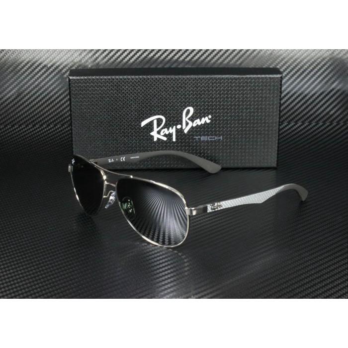 代購雷朋RayBan RB8313 003/40銀色灰鏡面男款墨鏡太陽眼鏡