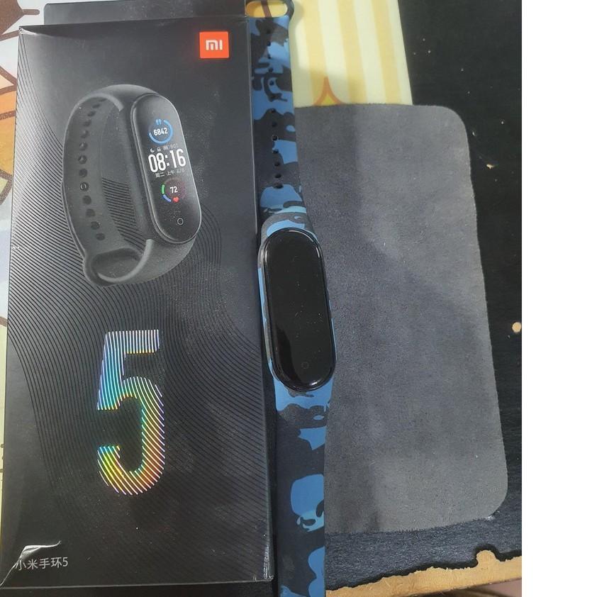 黑色錶帶 小米手環5 二手品 原廠盒裝(降價通知)