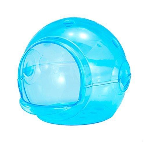 CARNO《夢幻水晶鼠籠-藍色45-0335/龍貓水晶浴室 45-0336》倉鼠/龍貓/小動物適用『WANG』