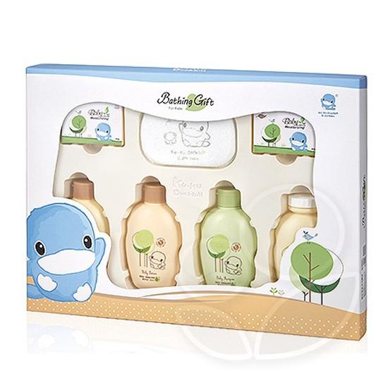 KUKU 酷咕鴨 酪梨油•燕麥蛋白萃取沐浴禮盒KU1116