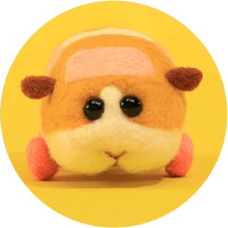 日本 天竺鼠車車  客製化 Pul Pul 羊毛氈 手工禮物 情人節 交換禮物 代戳成品