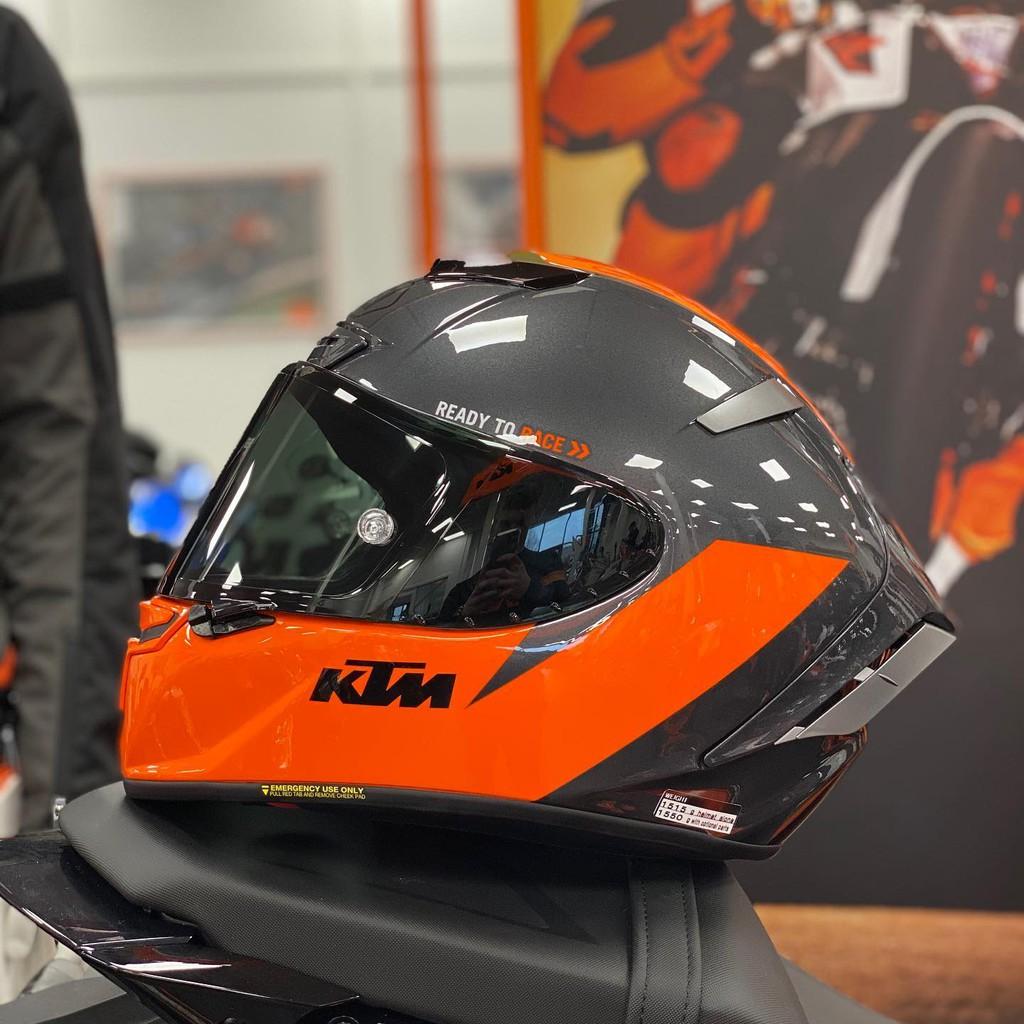 UPC部品板橋總店Ⓡ KTM 1290 Super Duke RR SHOEI X14 限定 限量 全罩 安全帽