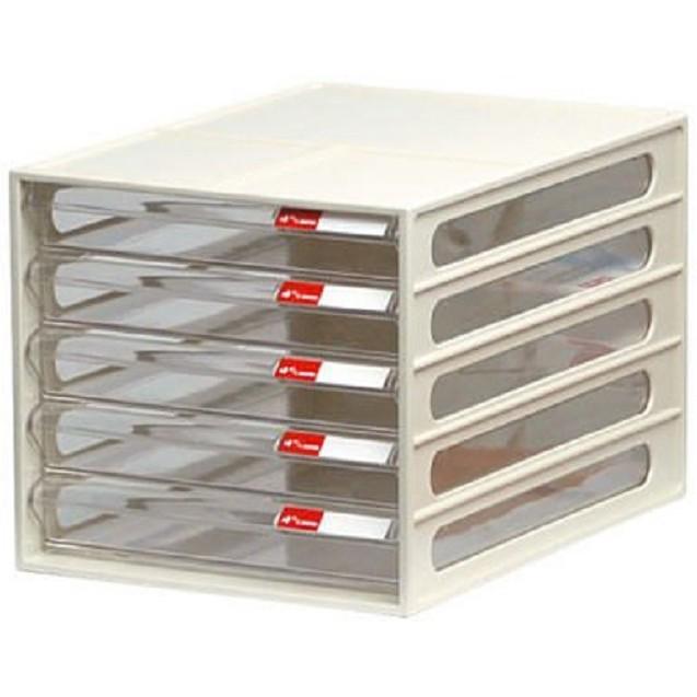樹德 DD-105P 五層文件櫃(顏色隨機出貨)