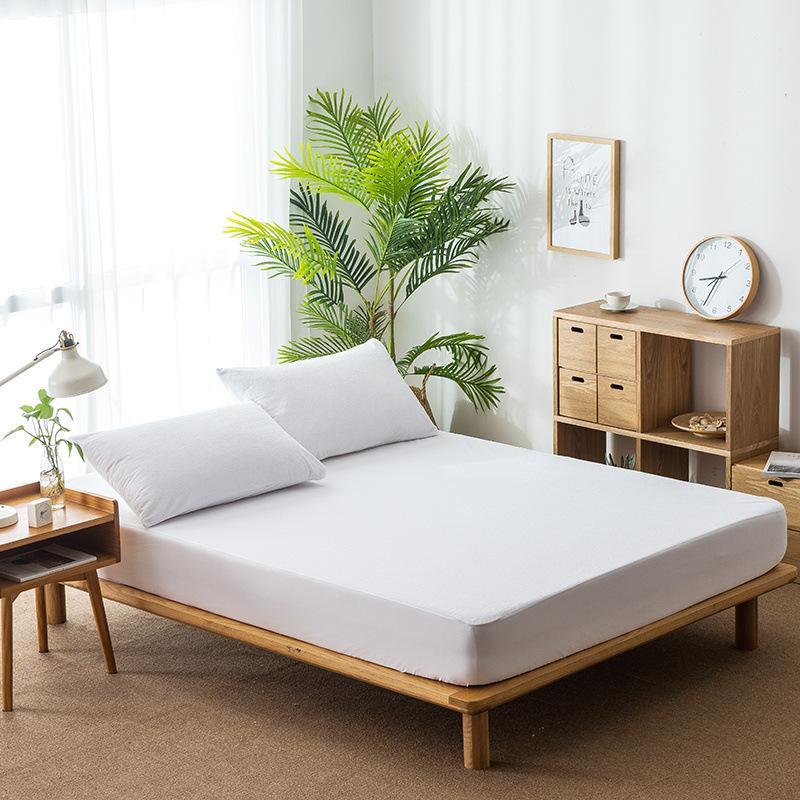 CL002 單人/雙人/雙人加大 防水保潔墊 床罩 保護床墊 寢具 嬰兒隔尿墊 毛巾布 防水床笠 防滑保護套 床包保潔墊