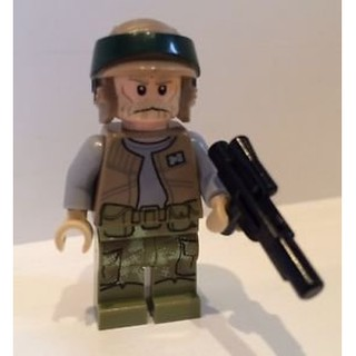 [樂高小人國] LEGO 正版樂高絕版品 75094 星際大戰/ 星戰 特迪瑞帝國穿梭機 Endor Rebel 人偶附槍