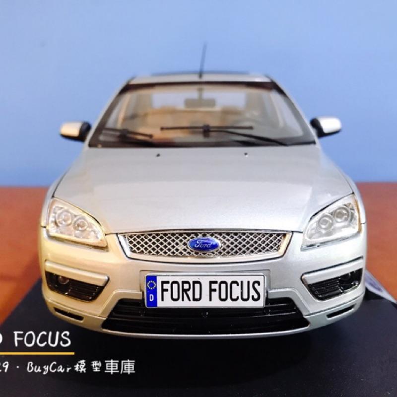 BuyCar模型車庫 1:18 Ford Focus模型車
