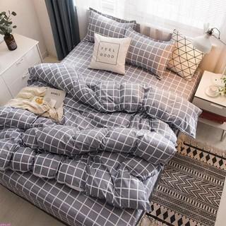 Dee Cat 日系春夏款 四件套 雙人床單 網紅被套 床單 床上用品 學生宿舍 三件套 被罩