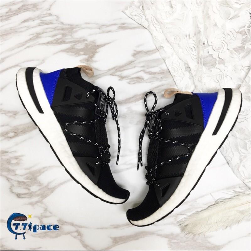 全新正版 Adidas Originals Arkyn CQ2749 許路兒 黑白藍 芭蕾舞鞋 女鞋🔹現貨