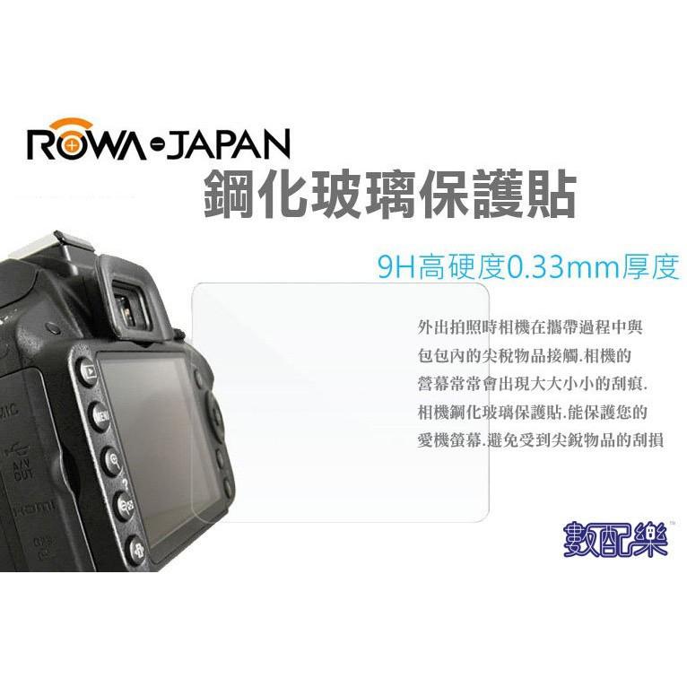 樂速配 ROWA 樂華 9H 鋼化玻璃貼 Sony A7c RX100M6 RX100 M7 觸控 螢幕貼 保護貼