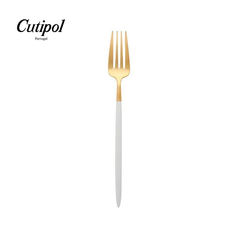 【Cutipol】GOA系列-白金霧面不銹鋼-18cm點心叉 葡萄牙手工餐具