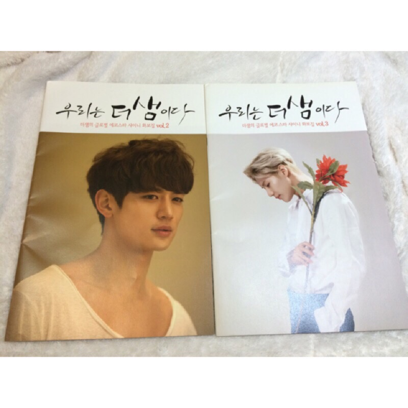 SHINee 官方 the SAEM 寫真 雜誌 溫流 鐘鉉 Jonghyun  key 起範 珉豪 泰民 seam